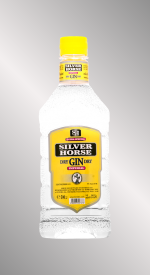 Gin SILVER HORSE 50cl, PET